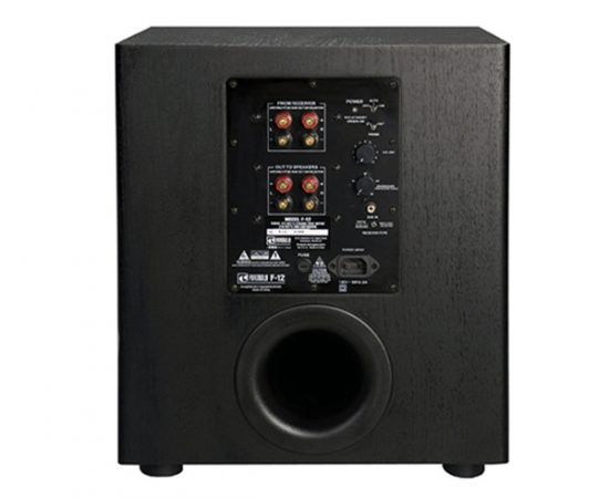 BIC America F12 Front Firing Powered Subwoofer 1