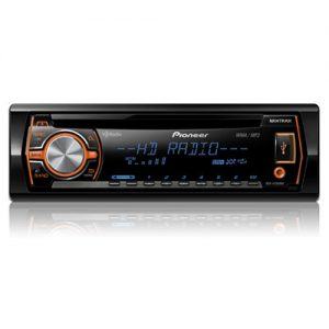 Pioneer DEH-X5500HD Single Din Car CD Receiver