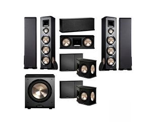 BIC America PL-980, 7.1 Home Theater Speakers, Surround Sound System