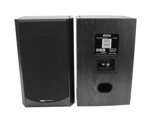 BIC America DV62si (Pair) Two-Way Bookshelf Speaker 1