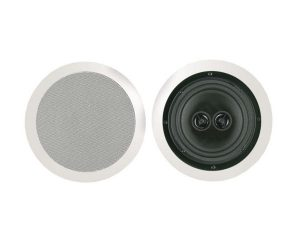 BIC America M-SR8D (Each) 8 inch Dual Voice-Coil Stereo Ceiling Speaker