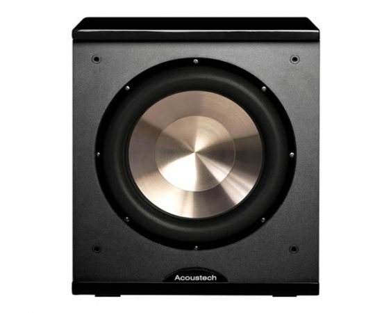 BIC America PL-200 12 inch 1000W Front Firing Powered Subwoofer