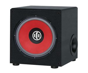 BIC America RTR-12S, Powered Subwoofer, Home Theater Subwoofer