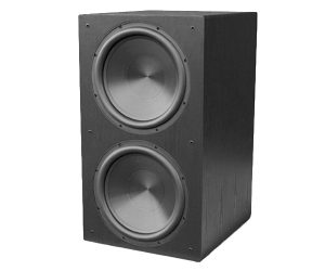 Rythmik Audio F25 black aluminium cone 800 watt 15 inch Home Subwoofer