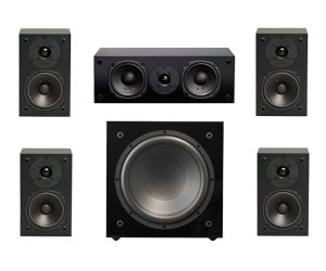 NHT Super Surround 5.1-Surround Sound Speaker System