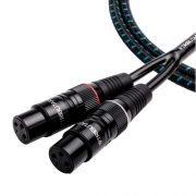 Tributaries 4AB-005 0.5 Meter Balanced Audio interconnect Cable