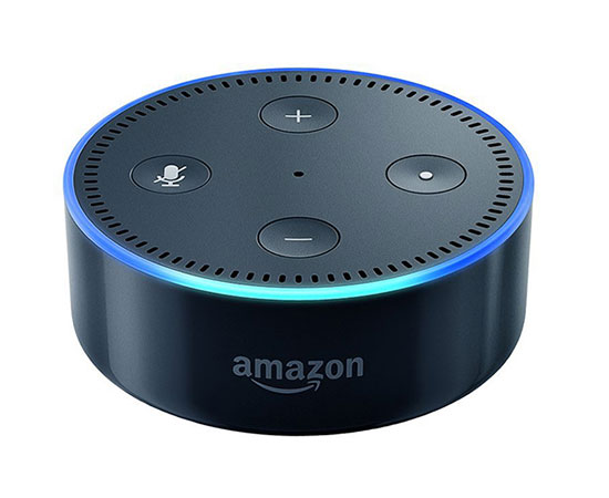 Amazon Echo Dot is a hands-free, Voice Controlled device that uses Alexa