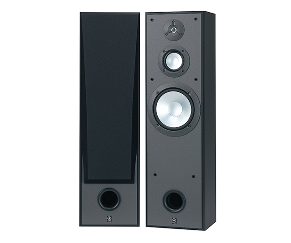 floors speaker brown yamaha free floor floorstanding new ns home brand speakers system shop