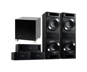 Pioneer S-RS88TB Home Theater 5.1 Speaker Package