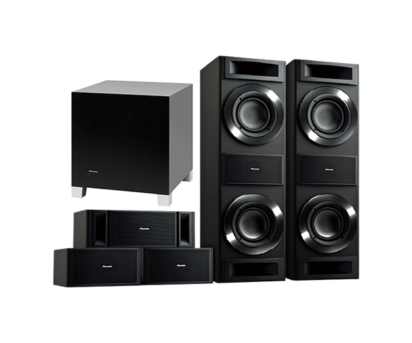 pioneer 5 1 home theater system. pioneer s-rs88tb home theater 5.1 speaker package 5 1 system