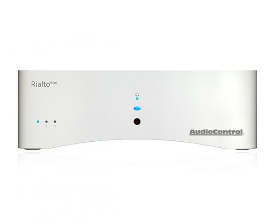 Audiocontol Rialto 600 2.1 Channel Compact Amplifier (White)