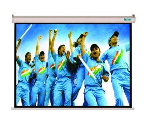 Milan 100 inch Motorized Projection Screen