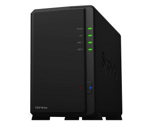 Synology 2-Bay 16 TB-20 TB Network Attached Storage