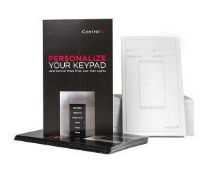 Control4 C4-LIT-KP-101637 Keypad Accessories