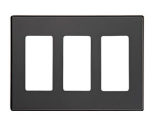 Control4 C4-WP3-BL Wall Plate (Black)