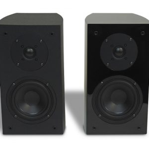 RBH R-5 Bookshelf Speaker(Gloss Black)(Pair)