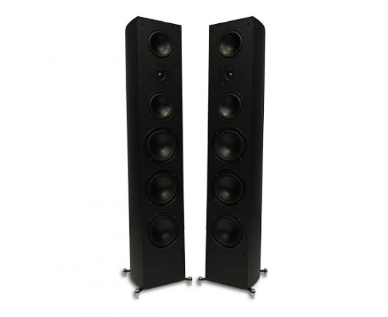RBH R-55 Tower Speaker (Gloss Black)(Pair)