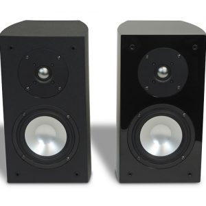 RBH R-5E Bookshelf/Surround Speaker(Gloss Black)(Pair)