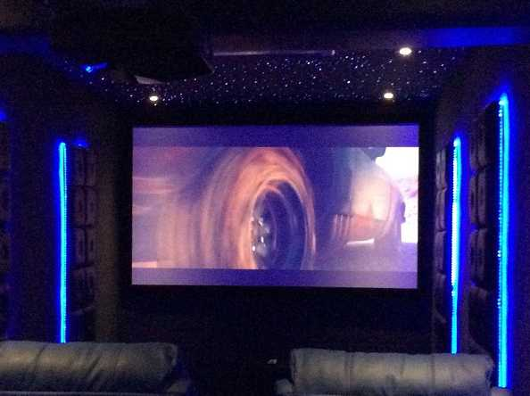 Dedicated Home Cinema for Penthouse Apartment in Versova