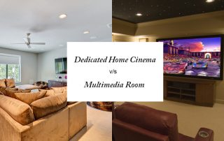 Home Theater v/s Media Room